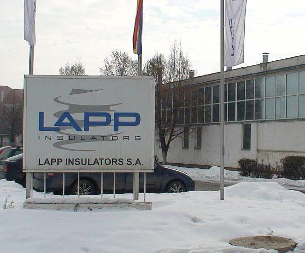 Termoizolatie incapere fabricare izolatori ceramici - LAPP INSULATORS - Turda