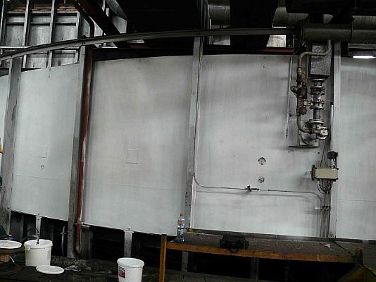 Termoizolatie rezervoare de vin - fabrica CHISINAU, februarie 2009