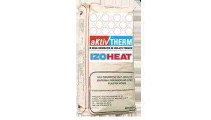 Tencuiala cu ciment alb IZOHEAT T01A