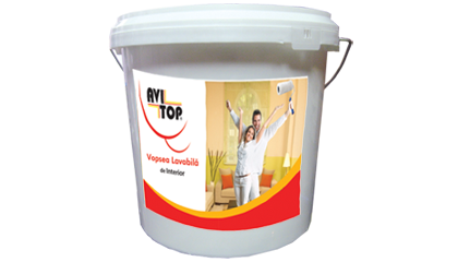 Vopsea lavabila de interior AVITOP 2,5L