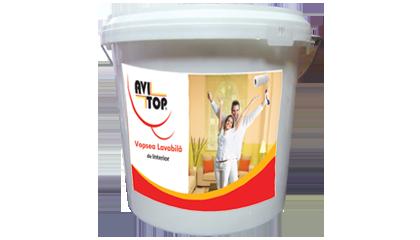 Vopsea lavabila de interior AVITOP 8.5L